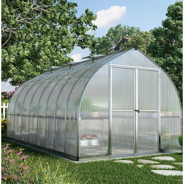 Bella 8 Ft. W x 16 Ft. D Greenhouse by Palram