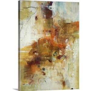 'Up Tempo' by Jill Martin Painting Print on Wrapped Canvas by Great Big Canvas