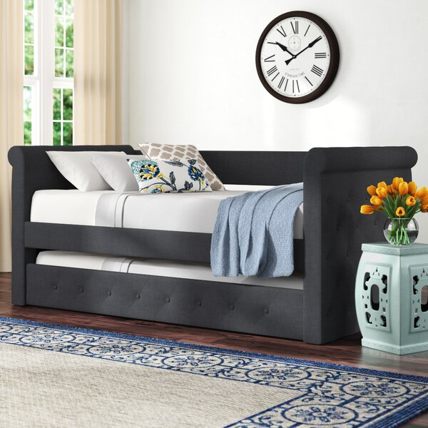 Reasor Daybed with Trundle by Charlton Home