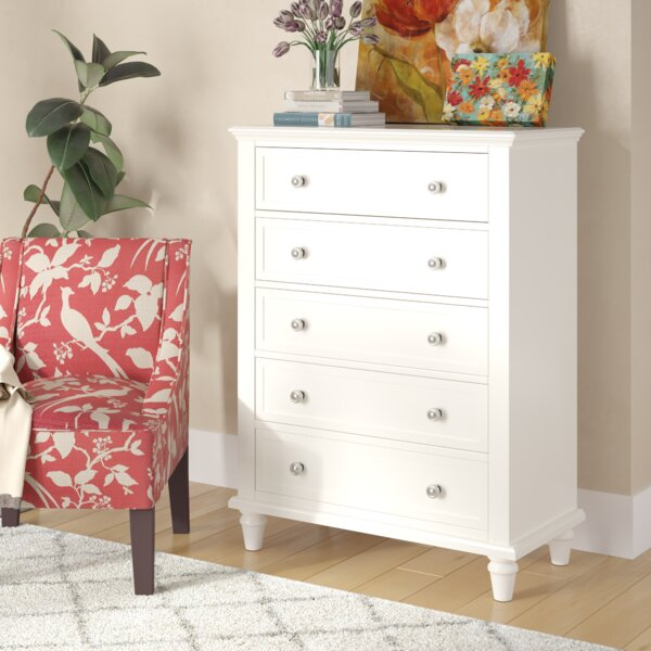 Rae 5 Drawer Chest By Three Posts by Three Posts New