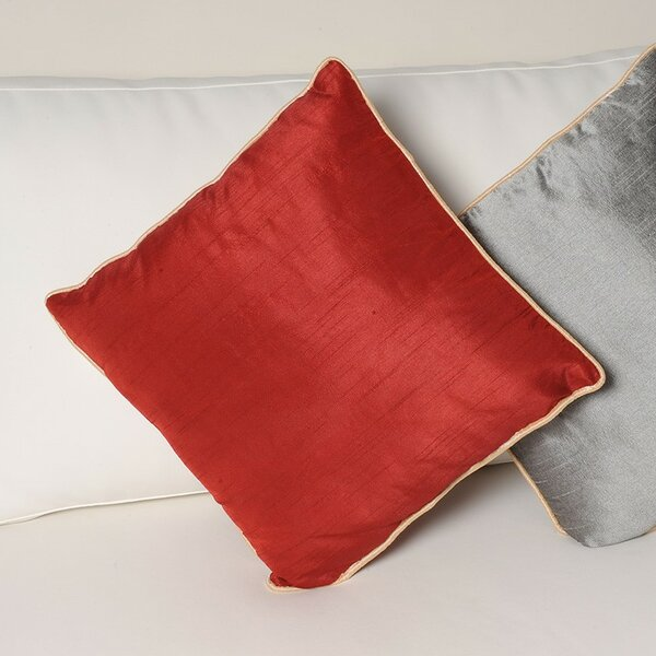 Sigmund Zipper Throw Pillow by Latitude Run