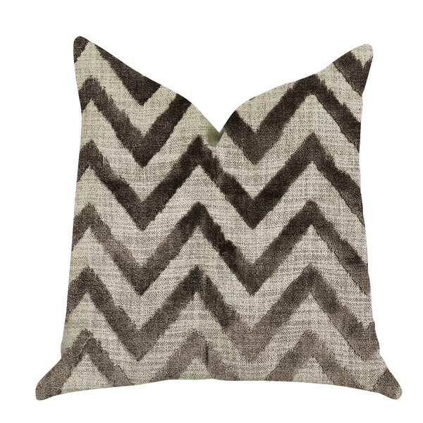 Demello Zigzag Luxury Pillow by Foundry Select