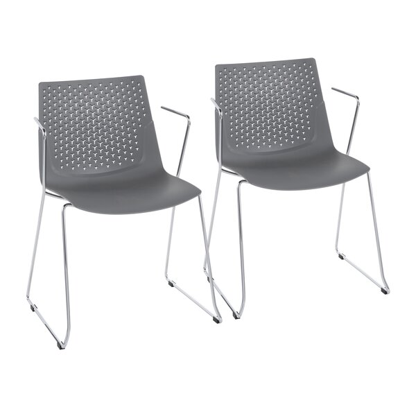 Lesli Dining Chair (Set of 2) by Wrought Studio