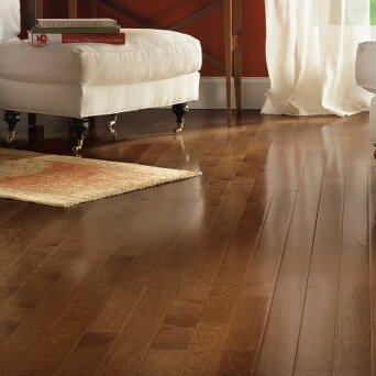 American Treasures 3-1/4 Solid Hickory Hardwood Flooring in Plymouth Brown by Bruce Flooring