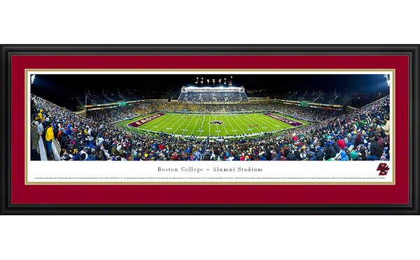 NCAA 50 Yard Line Deluxe Frame Panorama by Blakeway Worldwide Panoramas, Inc