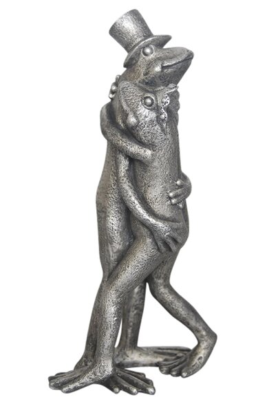 Resin Hugging Frogs Figurine by Donny Osmond Home