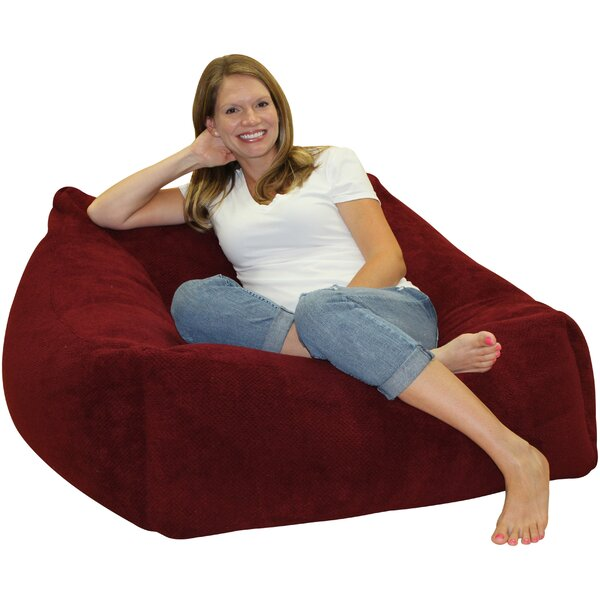 Solid Color Bean Bag Chair by Latitude Run