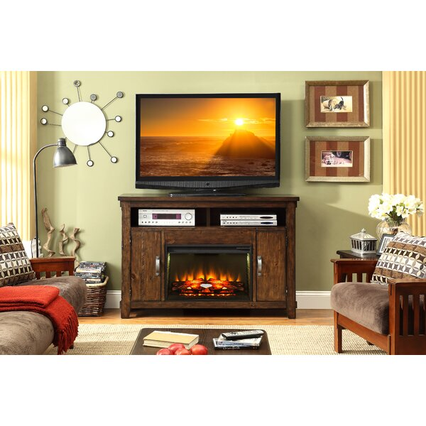 Camas 56 TV Stand with Fireplace by Loon Peak