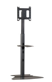 Adjustable Medium Tilt Floor Stand Mount for 30 - 50 Plasma/LCD by Chief Manufacturing