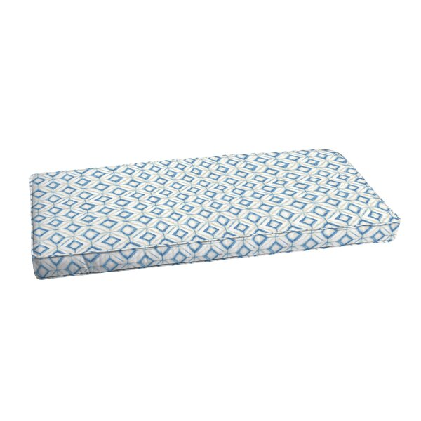 Indoor/Outdoor Bench Cushion by Wrought Studio