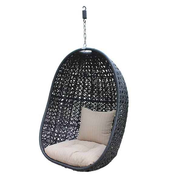Alcantar Swing Chair by Bungalow Rose