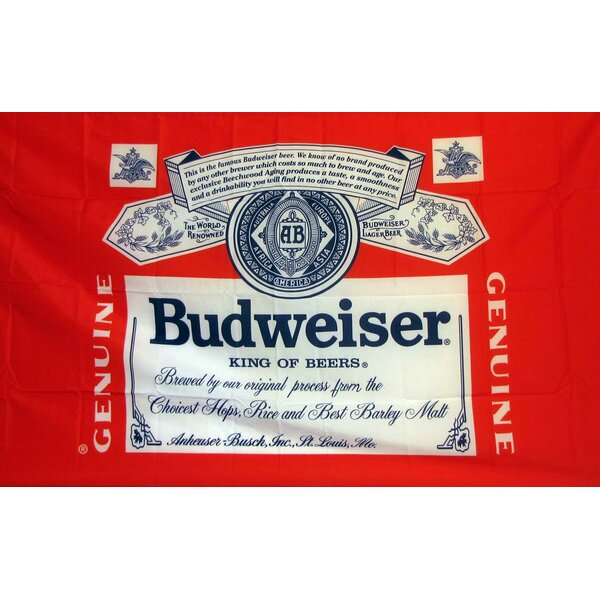 Budweiser Traditional Flag by NeoPlex