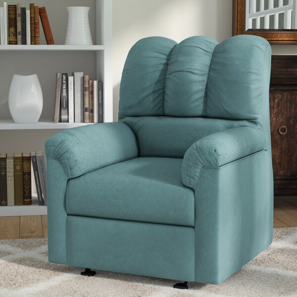 Grover Manual Rocker Recliner by Alcott Hill