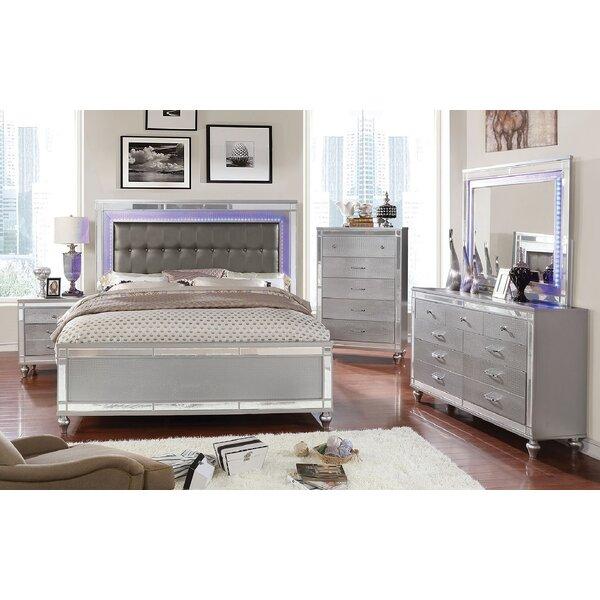 Havana Upholstered Standard Bed by Everly Quinn
