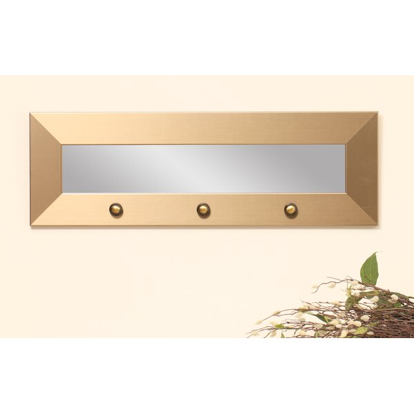 Zavier Hook Board Accent Mirror by Ebern Designs