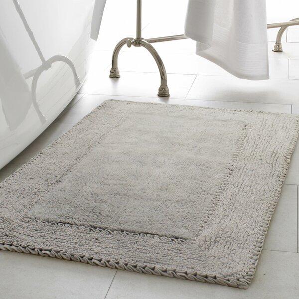 Ruffle Cotton Bath Rug by Laura Ashley Home