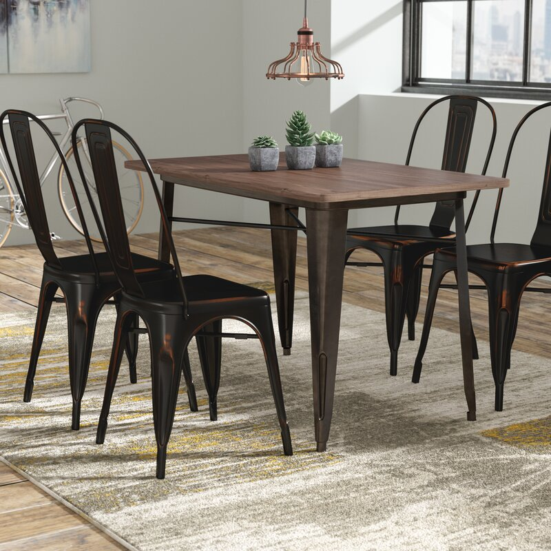Williston Forge Croley 5 Piece Dining Set & Reviews | Wayfair