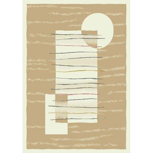 Pastiche Horizon Ecru Rug by Milliken