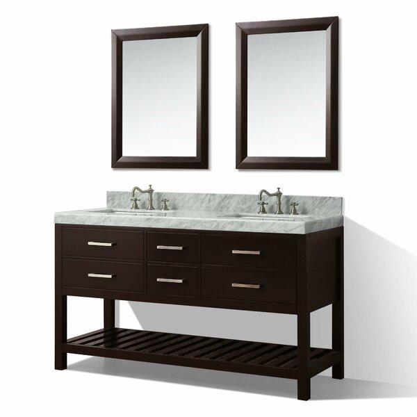 Jauss 60 Double Bath Vanity Set by Mercer41