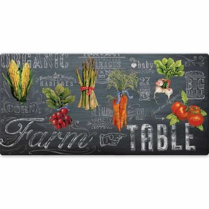 Mandragore Farm to Table Kitchen Mat by Gracie Oaks