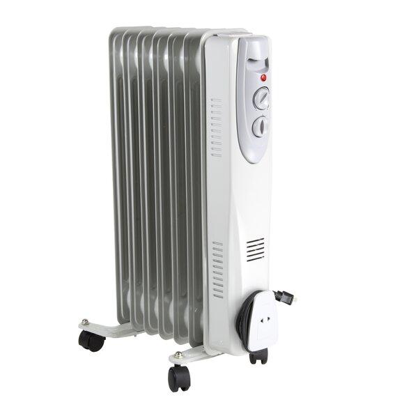 1200 Watt Electric Radiant Radiator Heater By Comfort Zone