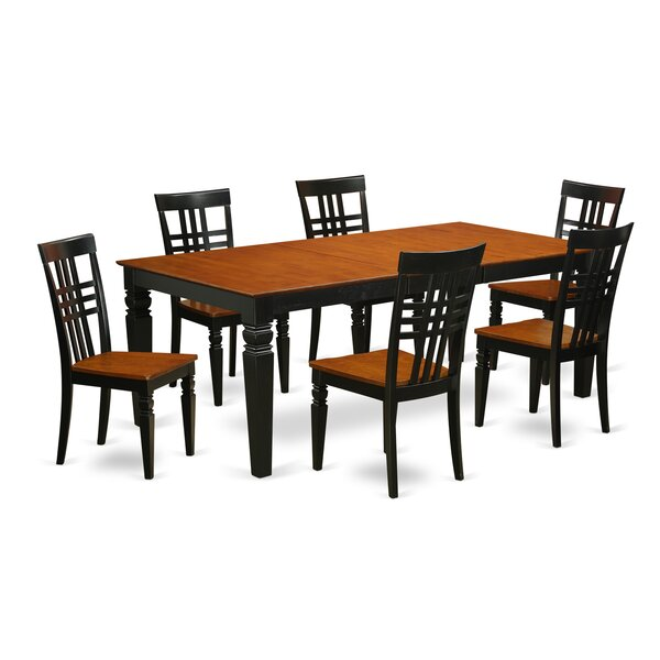 Beesley 7 Piece Wood Dining Set by Darby Home Co