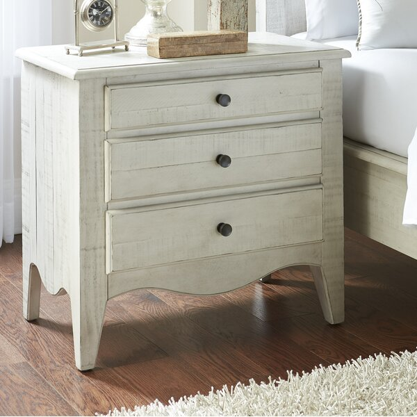 Anderton 3 Drawer Nightstand by Ophelia & Co.