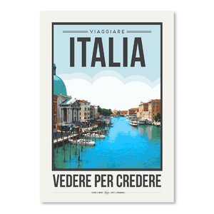 Travel Poster Italy Graphic Art by East Urban Home