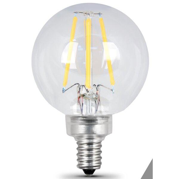 E12 Candelabra LED Light Bulb pack of 2 by FeitElectric