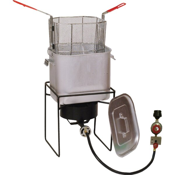 Fry Bucket Turkey and Fish Fryer Outdoor Cooker Package by King Kooker