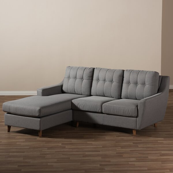 Discover Outstanding Designer Brydon Left Hand Facing Sectional by George Oliver by George Oliver