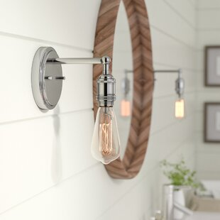 Check Prices Sandy Springs 1-Light Bath Sconce By Laurel Foundry Modern Farmhouse