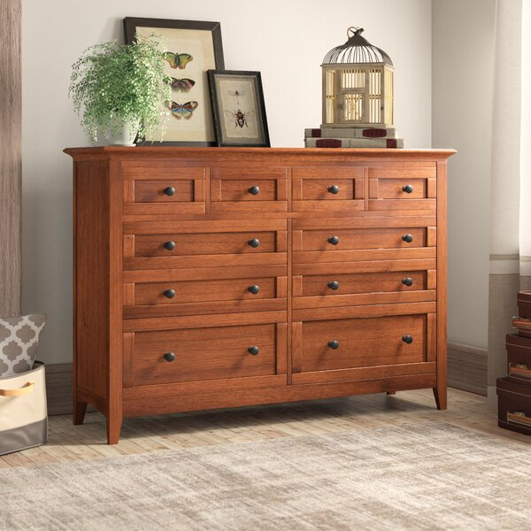 Calila 10 Drawer Double Dresser by Birch Lane™ Heritage
