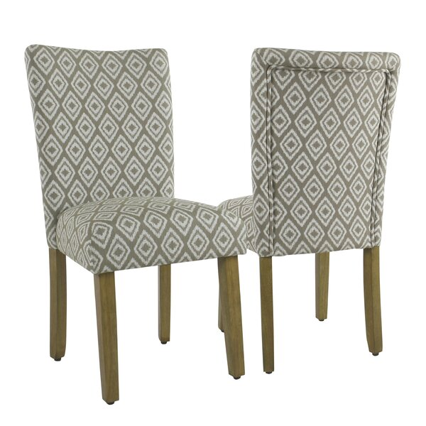 Longwood Upholstered Dining Chair (Set of 2) by Charlton Home