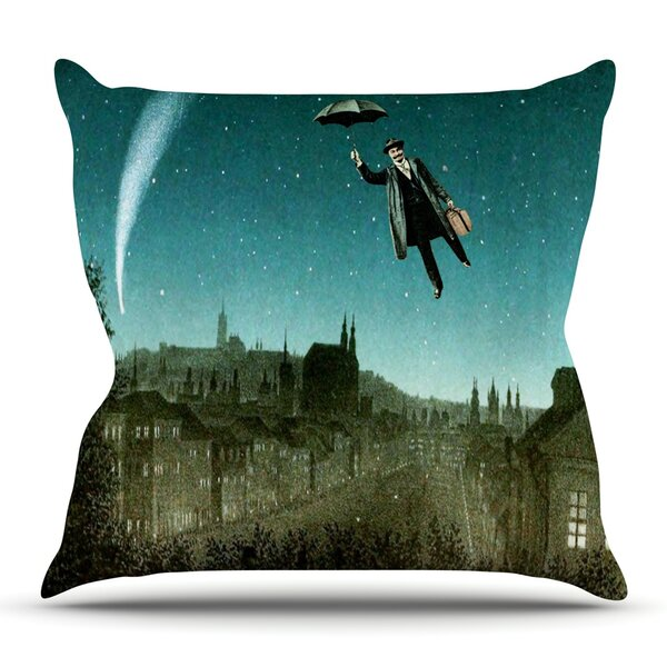 The Departure by Suzanne Carter Outdoor Throw Pillow by East Urban Home