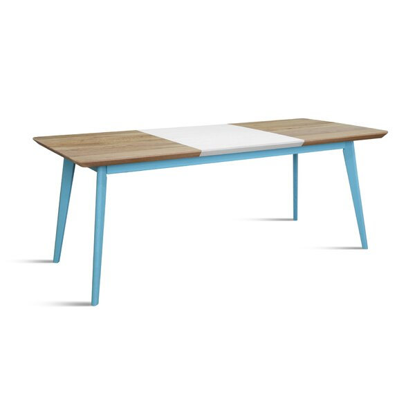 Verrett Solid Wood Dining Table by Brayden Studio