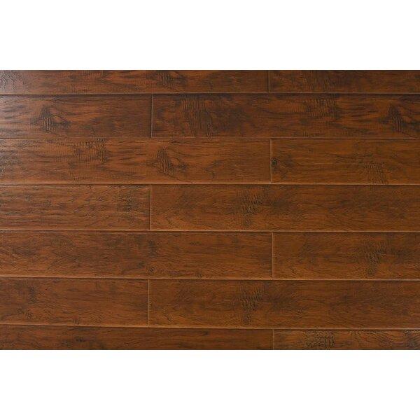 Kristoff 7 x 48 x 12mm Hickory Laminate Flooring in Antique Tan by Serradon