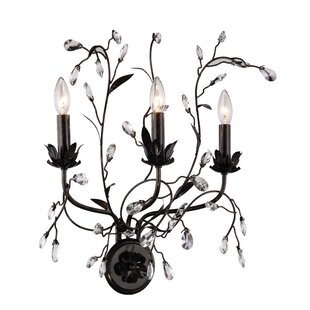 Find for Ramsey 3-Light Candle Wall Light By House of Hampton
