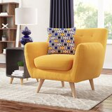 Fine Mid Century Modern Accent Chairs Youll Love In 2019 Wayfair Andrewgaddart Wooden Chair Designs For Living Room Andrewgaddartcom