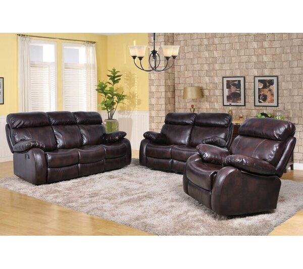 Maxwell 3 Piece Living Room Set by Beverly Fine Furniture