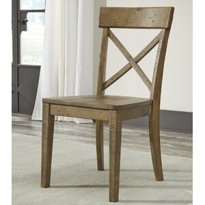 Colletta Solid Wood Dining Chair (Set of 2) by Mistana