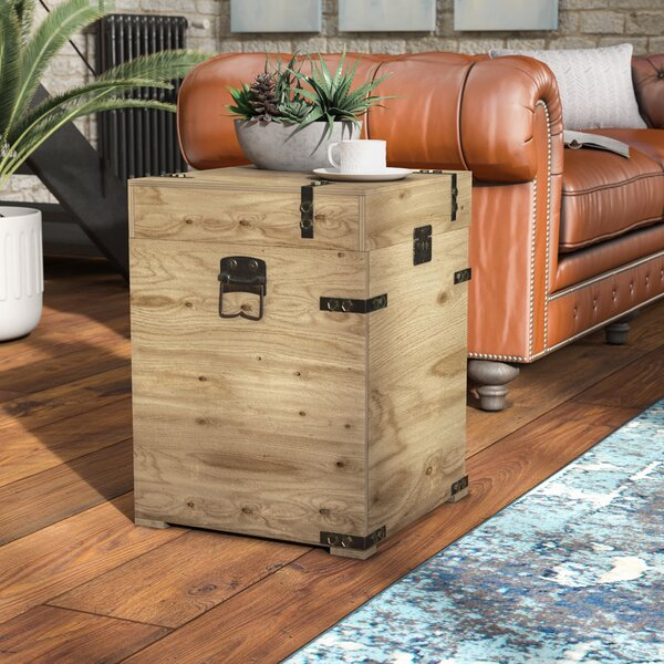 Harva Trunk End Table By Trent Austin Design