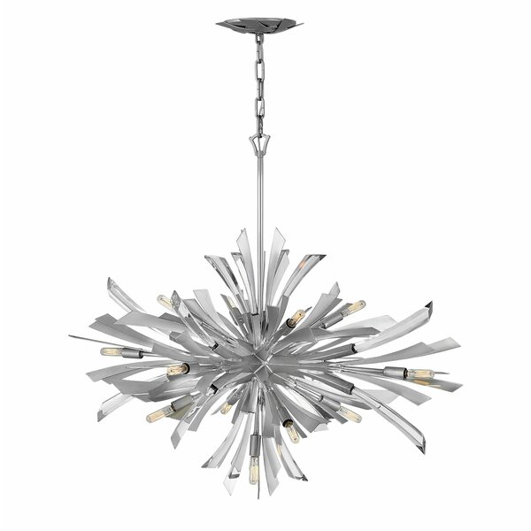 Vida 13 - Light Sputnik Sphere Chandelier By Hinkley