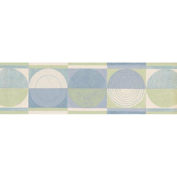 Christofor Abstract Semi Circles Wall Border by Red Barrel Studio