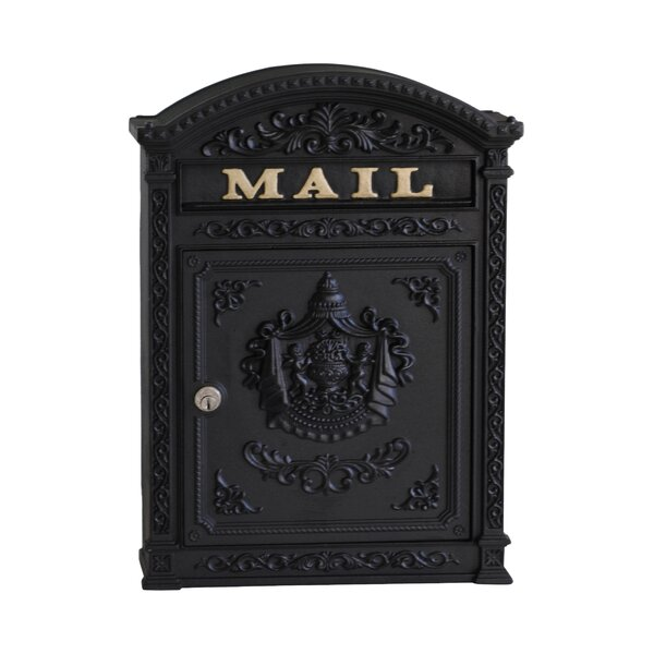 Vault Locking Wall Mounted Mailbox by Ecco