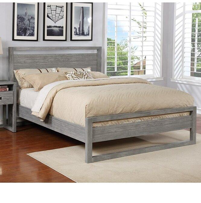 Millwood Pines Ulrich Solid Wood Platform Bed Wayfair
