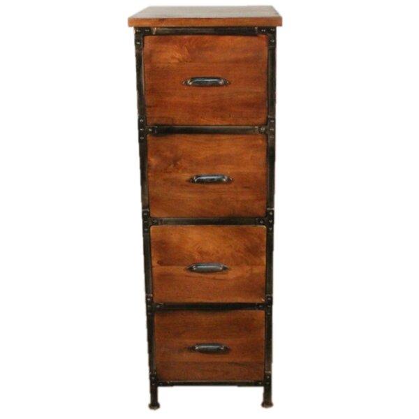 Winsett 4 Drawer Filing Cabinet by Loon Peak