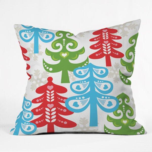 Zoe Wodarz Forest Tales Throw Pillow by Deny Designs