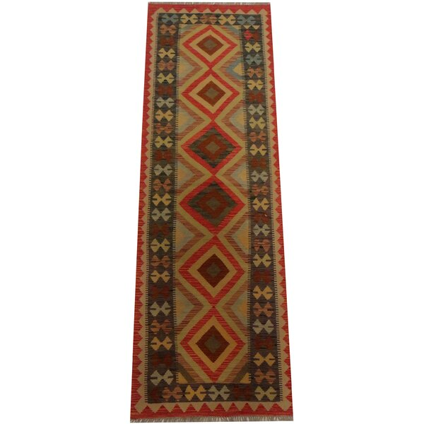 Kilim Hand Woven Red Area Rug