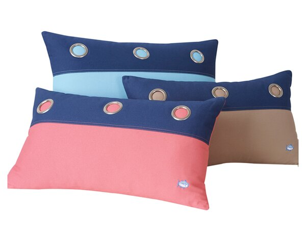Grommet Lumbar Pillow by Southern Tide